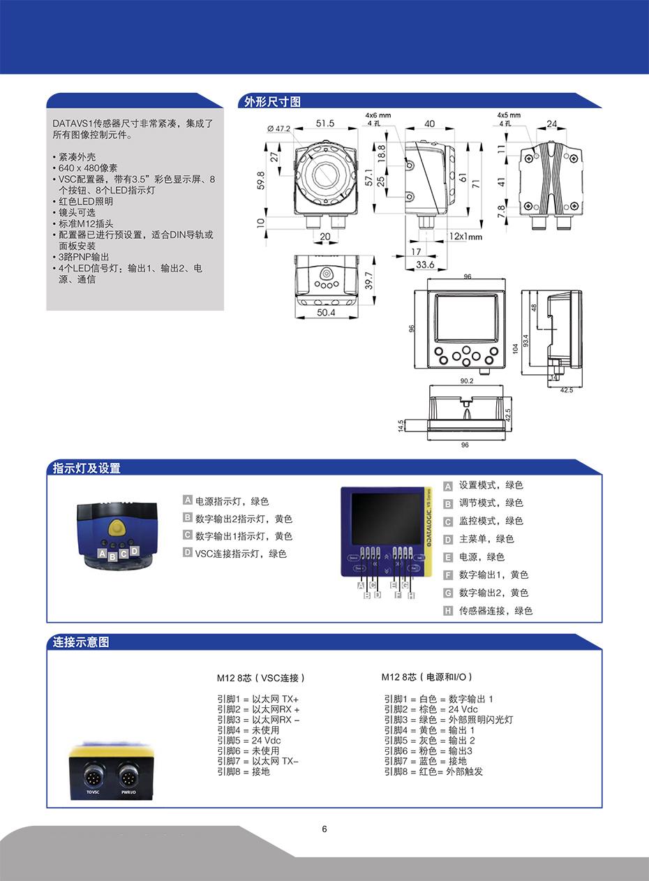 DATAVS1视觉传感器详情2