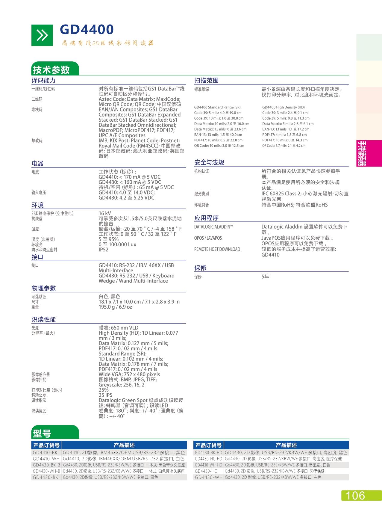 线性条码阅读器QD2131 (3)