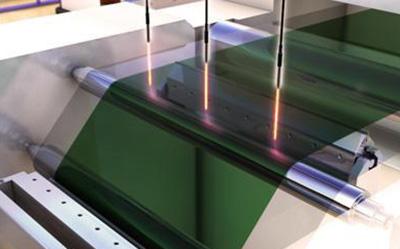 透明网片的厚度测量