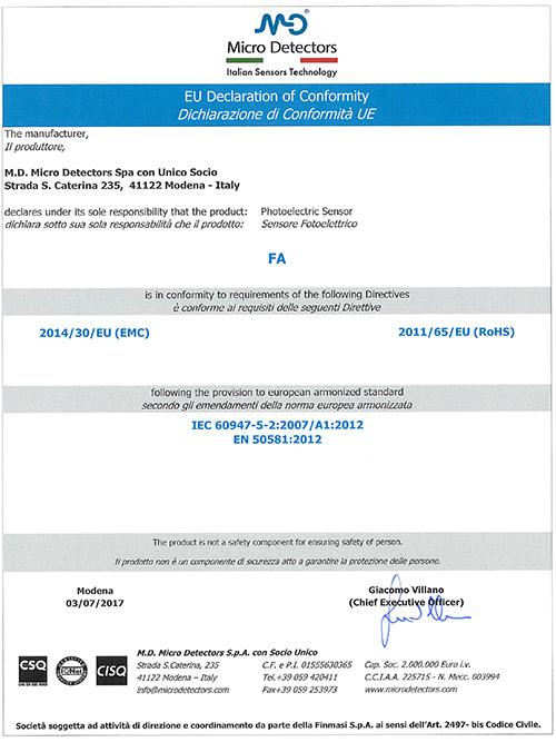 米秀资质证书--FA_EU