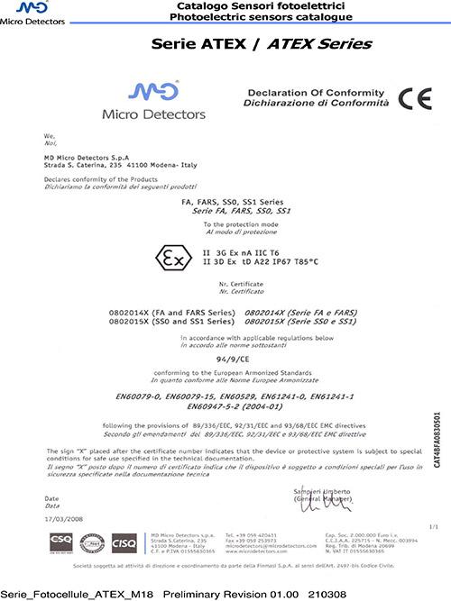 米秀资质证书--M18-ATEX