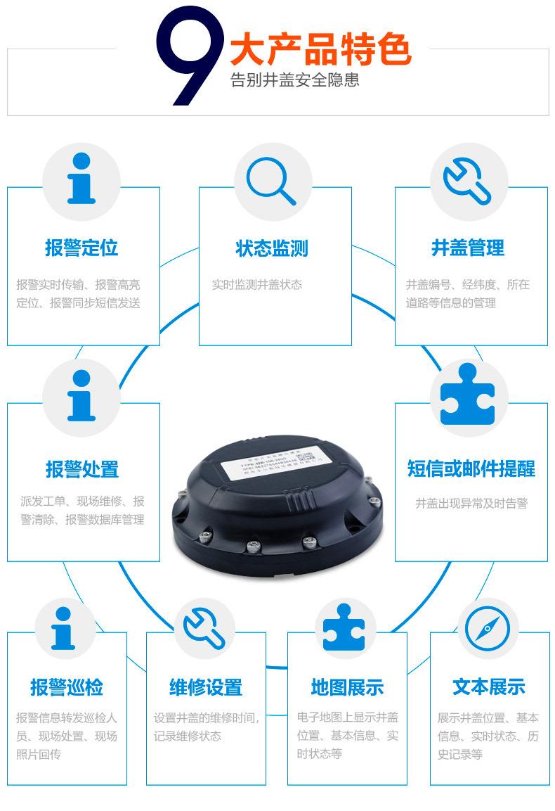 智能井盖监测传感器 (3)