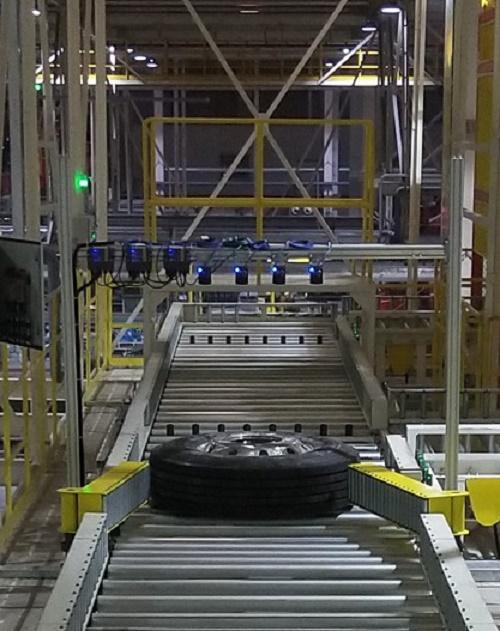 汽车轮胎扫描