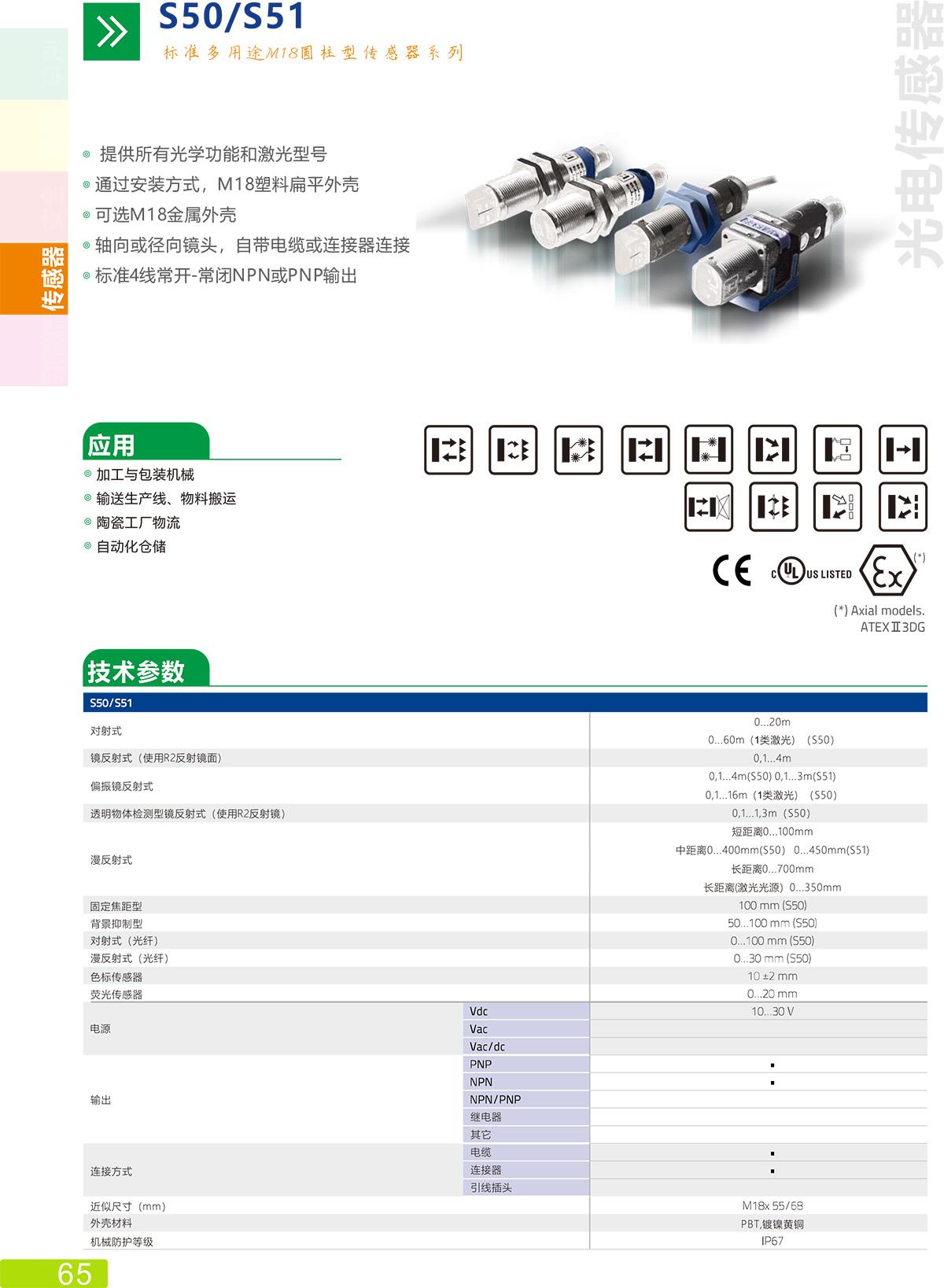 S50/S51传感器