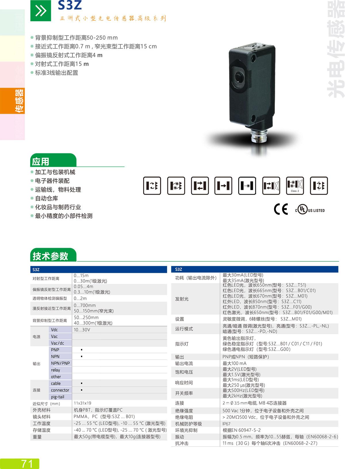 S3Z传感器