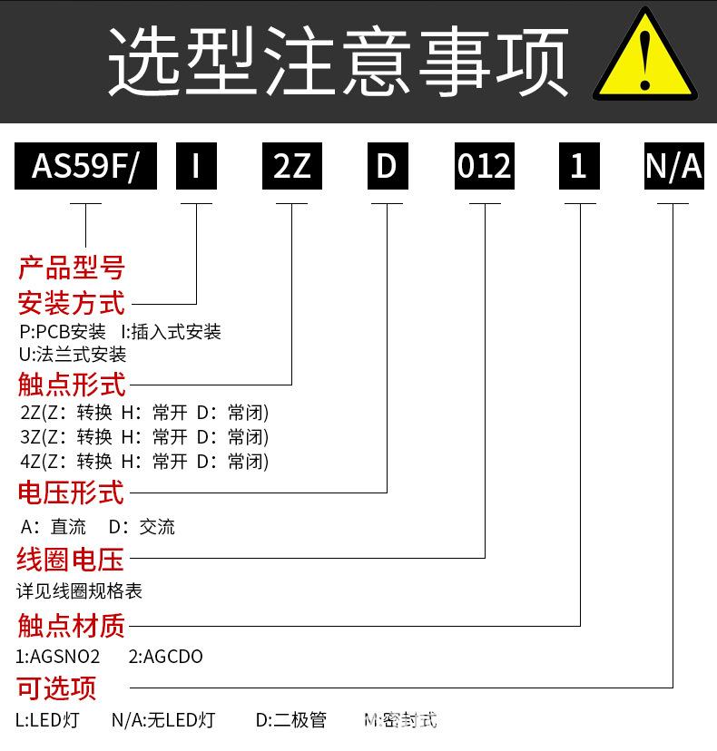 中间继电器JQX-59F (4)