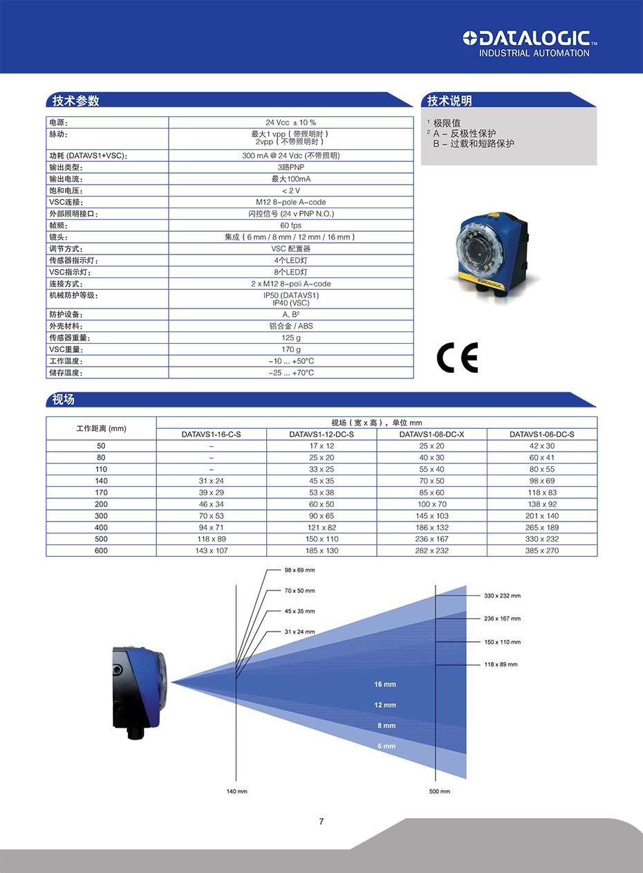 DATAVS1视觉传感器详情3